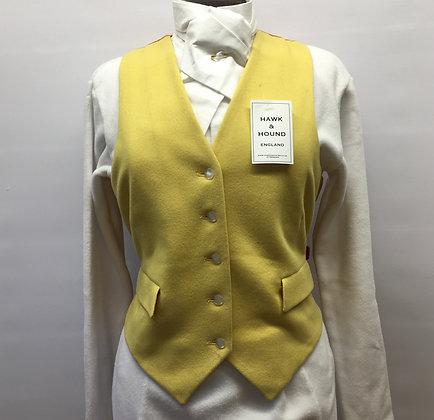 """38"""" Caldene ladies yellow waistcoat"""