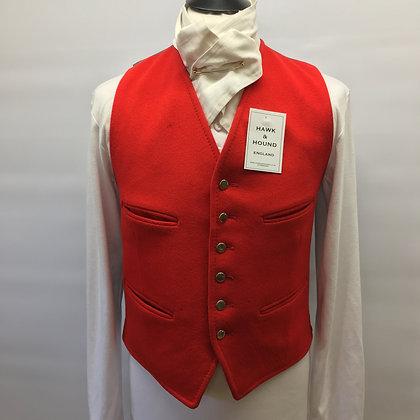 "38"" Red Dunn & Co waistcoat"