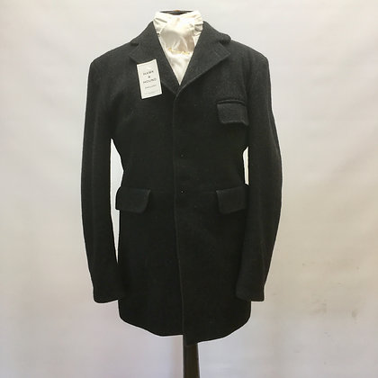 Men's Harry Hall Black 5 button coat 40""