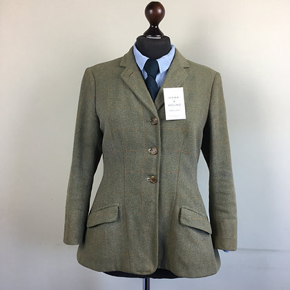"36"" vintage Frank Hall tweed coat"