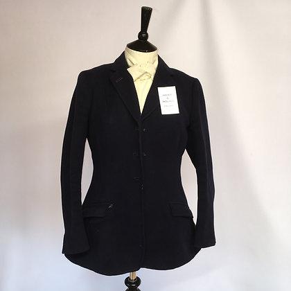 "Vintage Bespoke Navy Coat 38/40"""