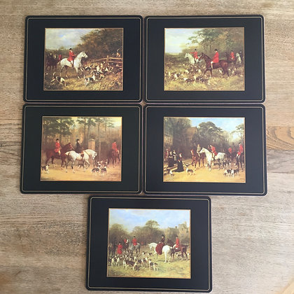 5 HUNTING PLACEMATS