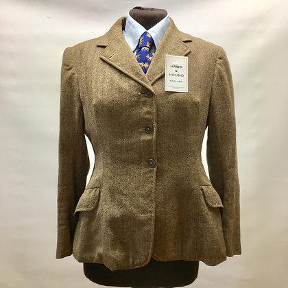 """Vintage Frank Quinn ladies tweed coat 36"""""""
