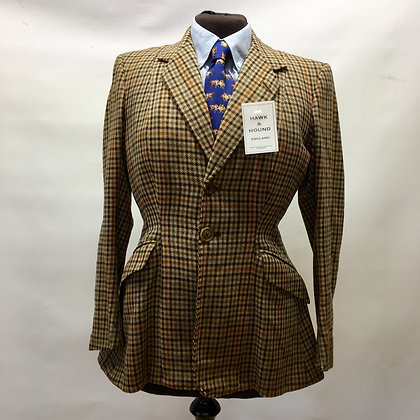 "Vintage 1950 ""H. Huntsman"" ladies tweed 36"""