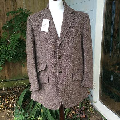 """40"""" Gent's Brown Tweed"""