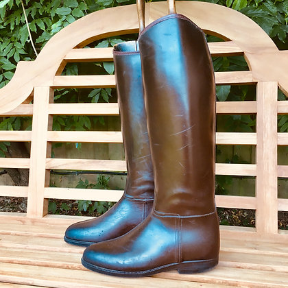 Stylo brown rubber boots 7.5 - 8