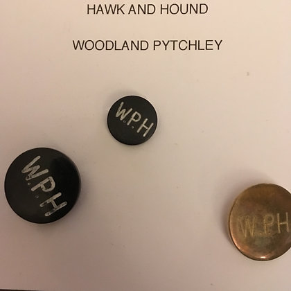 Woodland Pytchley Hunt Buttons