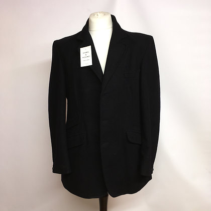 Regency Black Hunt Coat 42""
