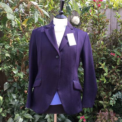 "Ladies Bespoke Navy Mears 2 button coat 38"""