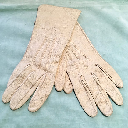 Vintage leather riding gloves XS