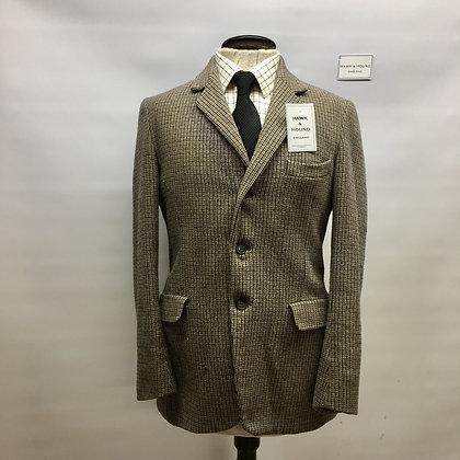"""36"""" Houndstooth Matlock & Brown tweed"""