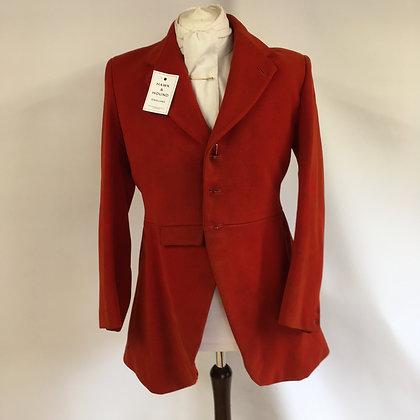 """Vintage 3 button red hunt coat 40"""""""