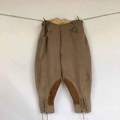 Harrods Vintage elephant ear breeches 30""