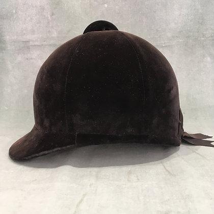 Black Herbert Johnson Hunt Cap 6 3/4  55cm