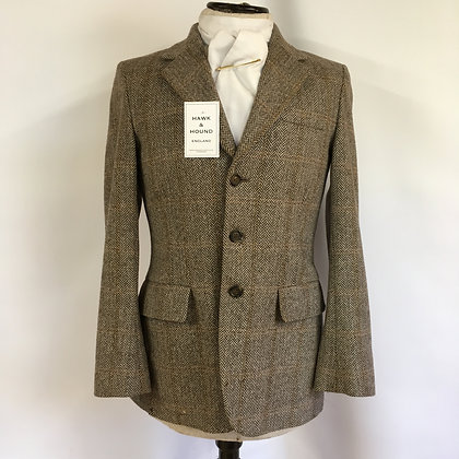 Gent's vintage Billings & Edmonds tweed coat 36""