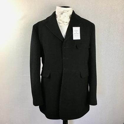 """42"""" Gent's Black Caldene Frock Coat"""