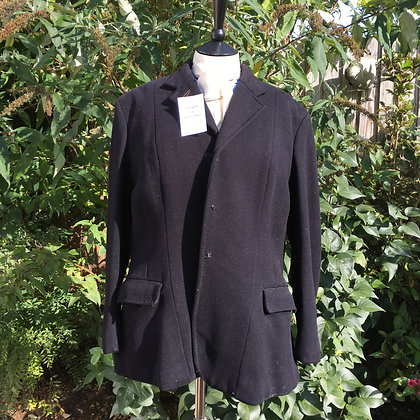 Vintage Bespoke Black Hunt Coat 40/42""
