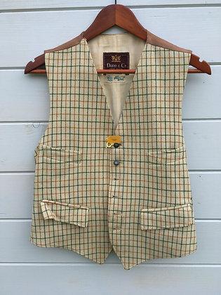 """Dunn & Co Tattersall Waistcoat 36/38"""""""