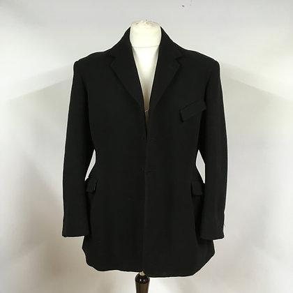 """Vintage Gent's Black Hunt Coat 42"""""""