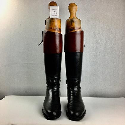 Size 8.5, Horace Batten Mahogany Top Boots