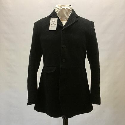Pristine Frank Hall 3 button black coat 38