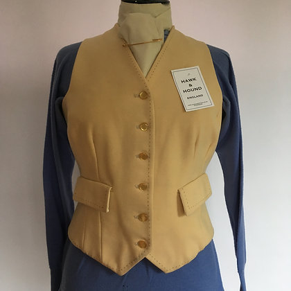 Foxley pale yellow waistcoat 34""