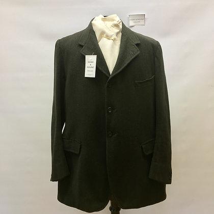 """Gent's 3 button charcoal black coat 42"""""""