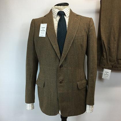 "40/42"" chest/ 29"" leg Vintage handmade bespoke suit"