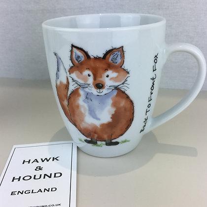 """Back to Front Fox"" Mug"