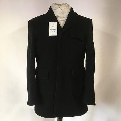 "Mears Black 3 button coat 38"""