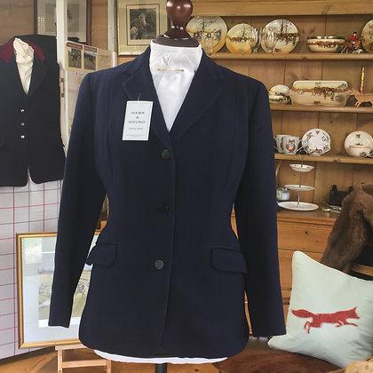"36"" Vintage Welsh & Jefferies Navy Jacket"
