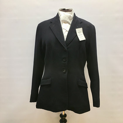 "36"" Vintage Navy Bernard Weatherill med weight coat"