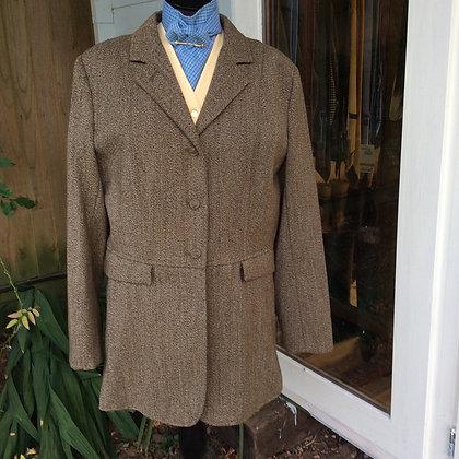 "Equetech Keeper's Tweed Frock Coat 42"""