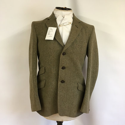Gent's Foxley Tweed Coat 36""