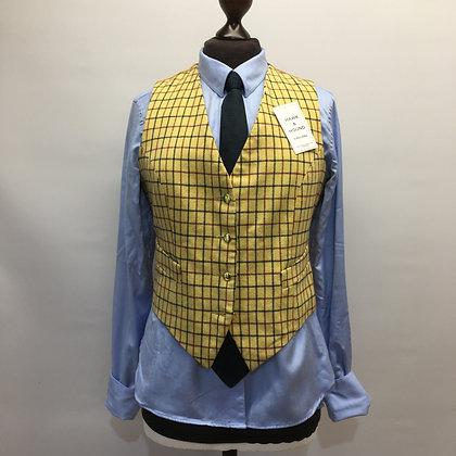 """36"""" Tattersall check waistcoat"""