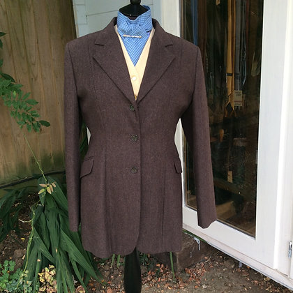 Dublin Brown Tweed 40 - tags attached