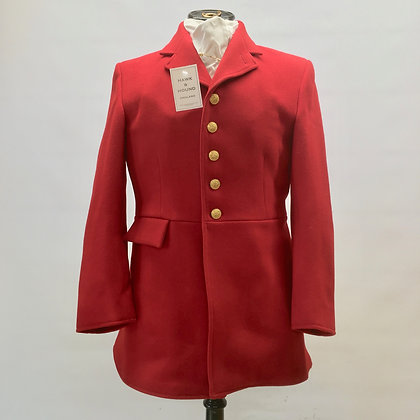 """Mears 5 button Red coat 38"""""""