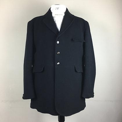 """44"""" Gentleman's black Caldene Frock hunt coat"""