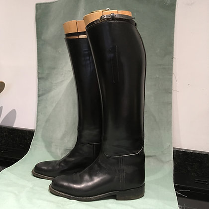 Horace Batten black boots with trees 5.5 - 6