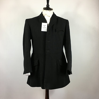 "42"" Vintage Henry Warren Black Frock Coat"