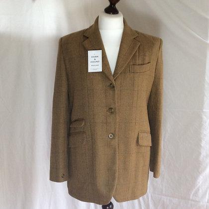 "Oliver Brown Tweed Coat 40"""