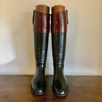 7 ½ - 8 Tom Hill Box Calf Top Boots