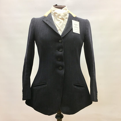 Frank Hall Ladies Navy 4 Button coat 32""