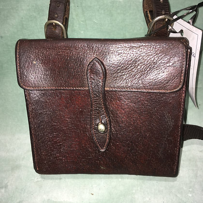 Vintage Swaine Brigg leather sandwich case