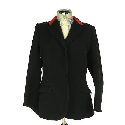 "36"" Black Goldings Hunt Coat"