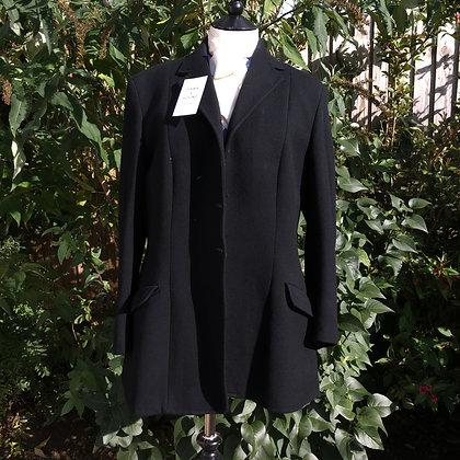 """Ladies Black Matlock & Brown Hunt coat 42"""""""