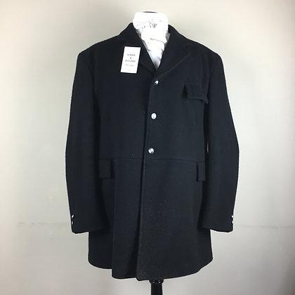 """46"""" Gentleman's Mears Black Frock hunt coat"""