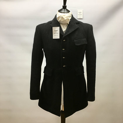"38"" Harry Hall Gent's black hunt coat"