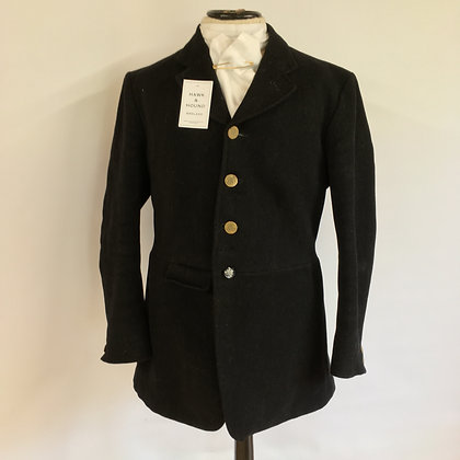 Frank Hall 4 button Hunt coat 38""