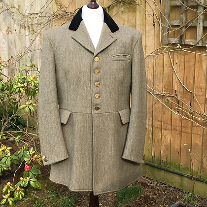 Mears PYTCHLEY Keeper's Tweed 5 Button Hunt Coat 46""